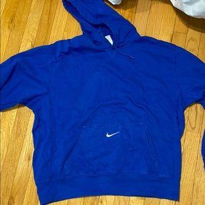XL blue Nike sweatshirt